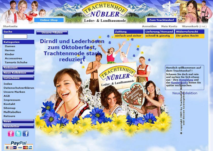 Trachtenhof.de Online-Shop