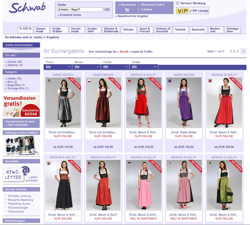 Schwab Versand Online-Shop