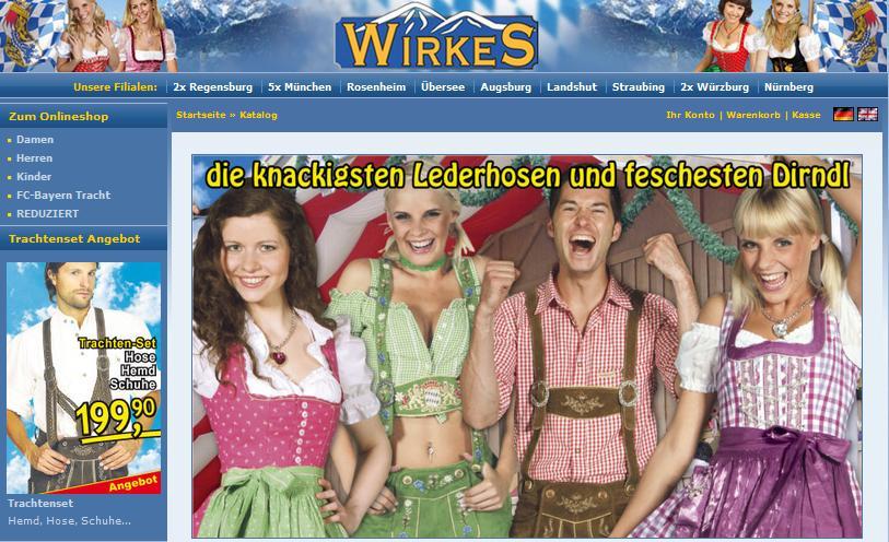 Wirkes Online-Shop