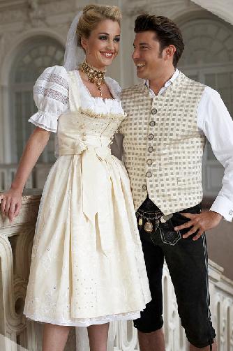 Hochzeitsdirndl - Schatzi Dirndl