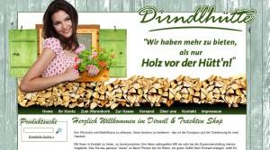 Dirndlhütte Online-Shop